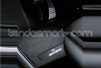 Alfombrillas velours BRABUS