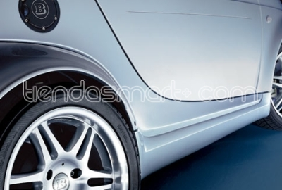 Faldones laterales coup� imprimados BRABUS