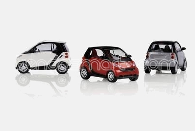 smart fortwo 451 1:18